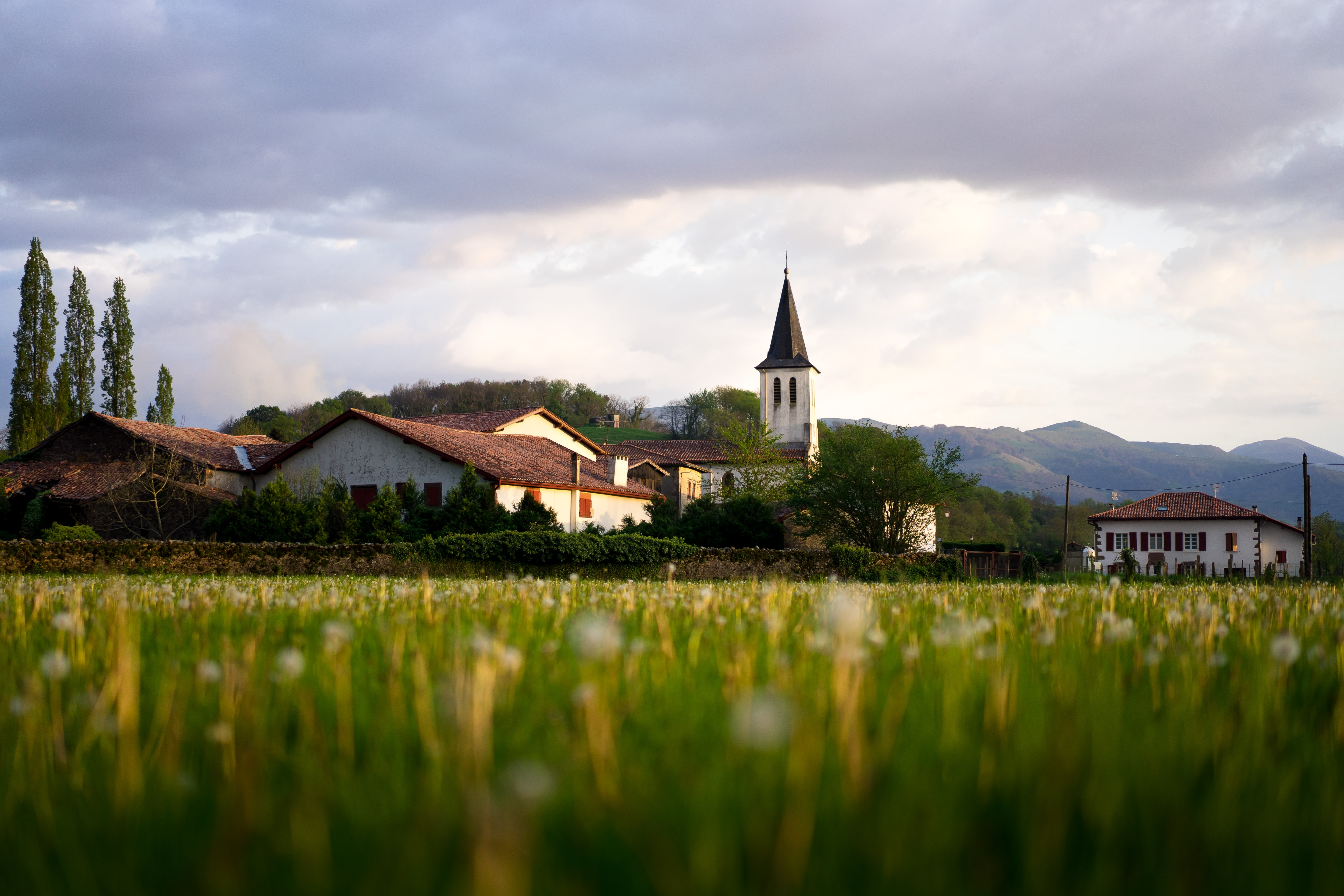 Countryside in France