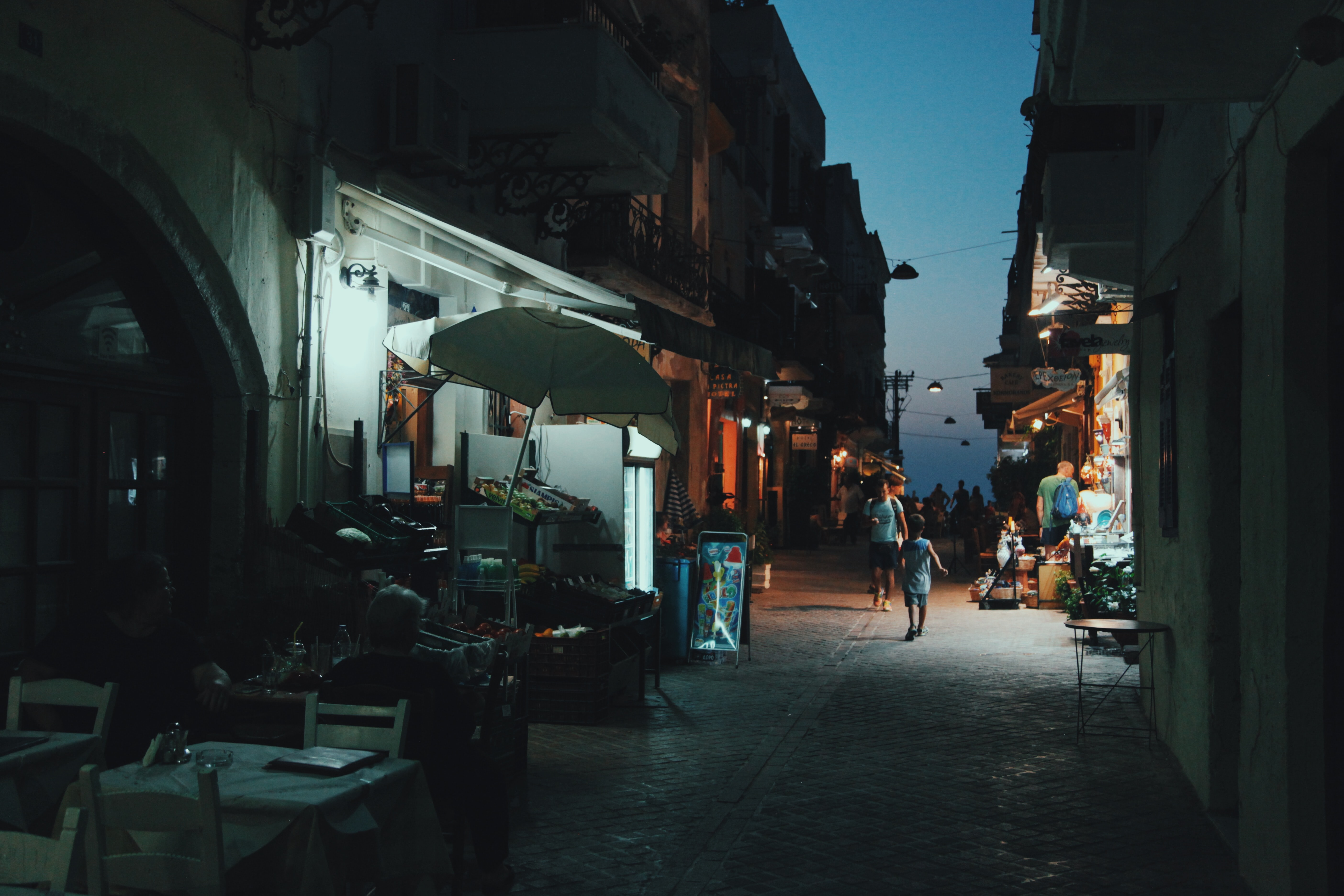 Chania, Greece, Vibrant Nightlife