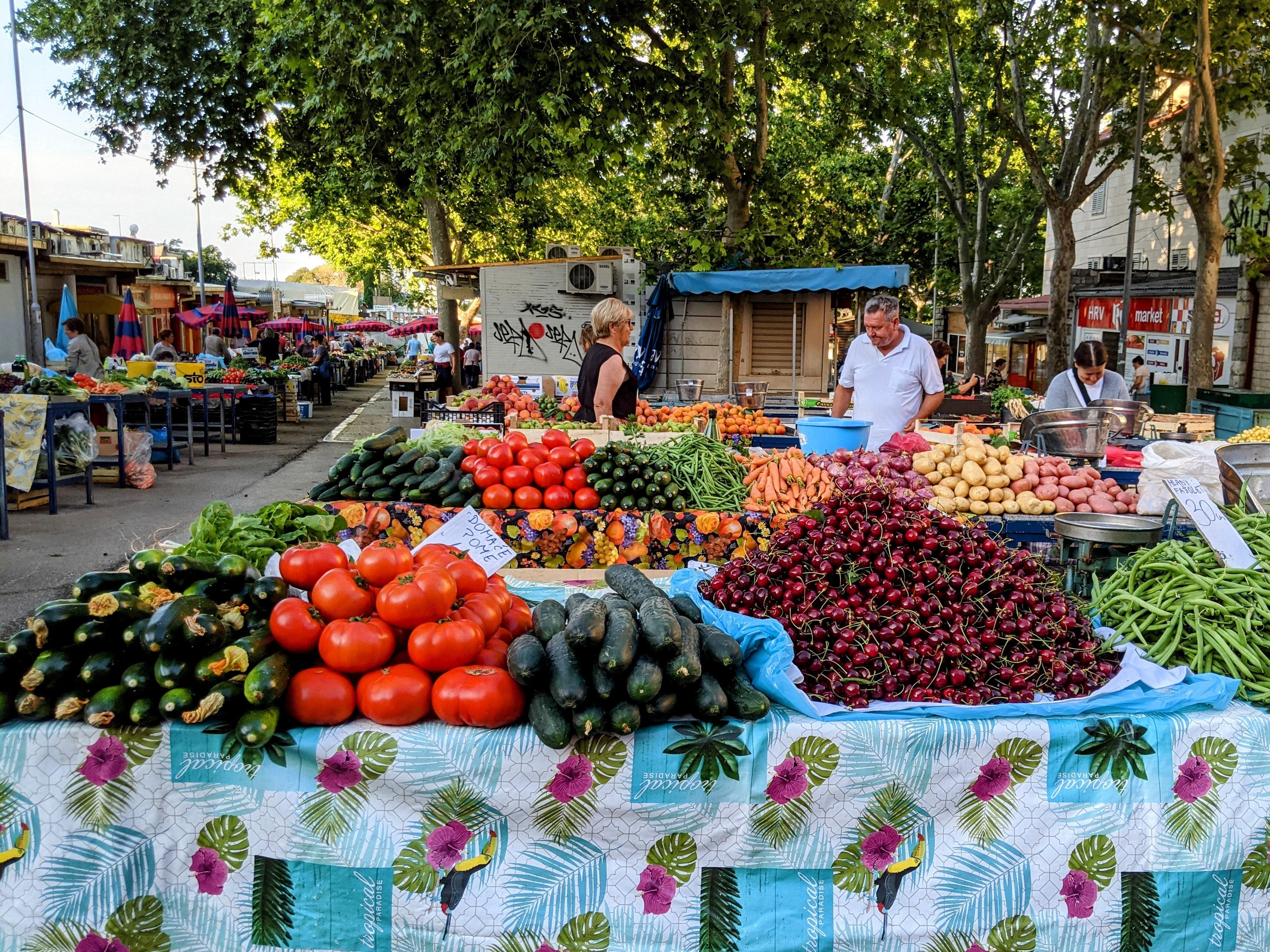 Split Market, actividades únicas en Croacia