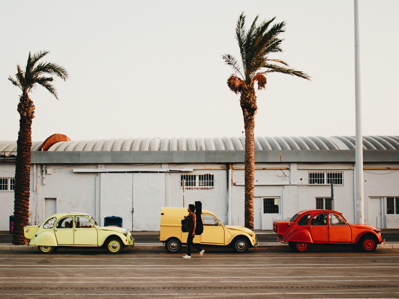 Travel by car in Split, Croatia