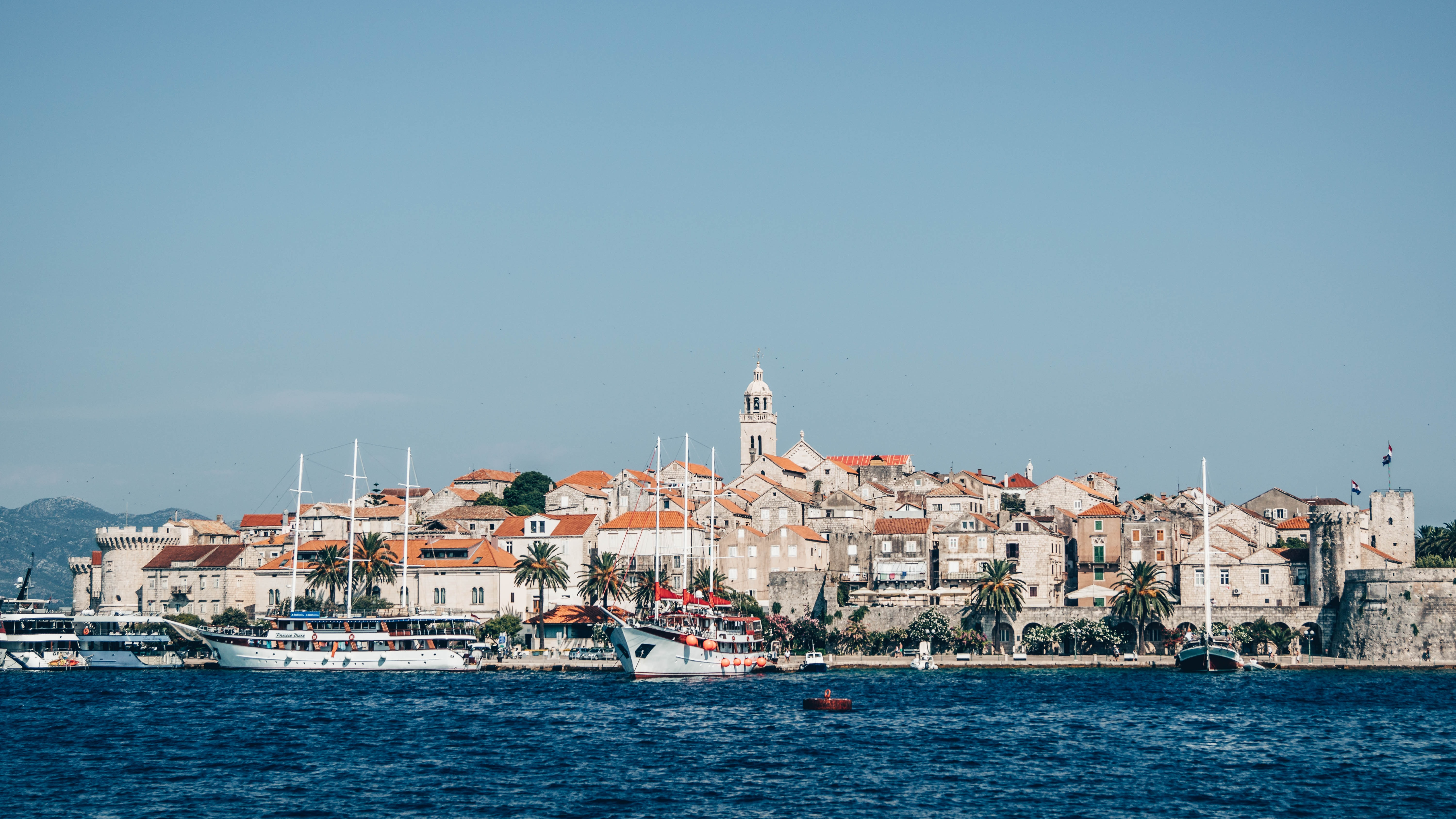 Korcula old town, Croatia Itinerary For 7 Days