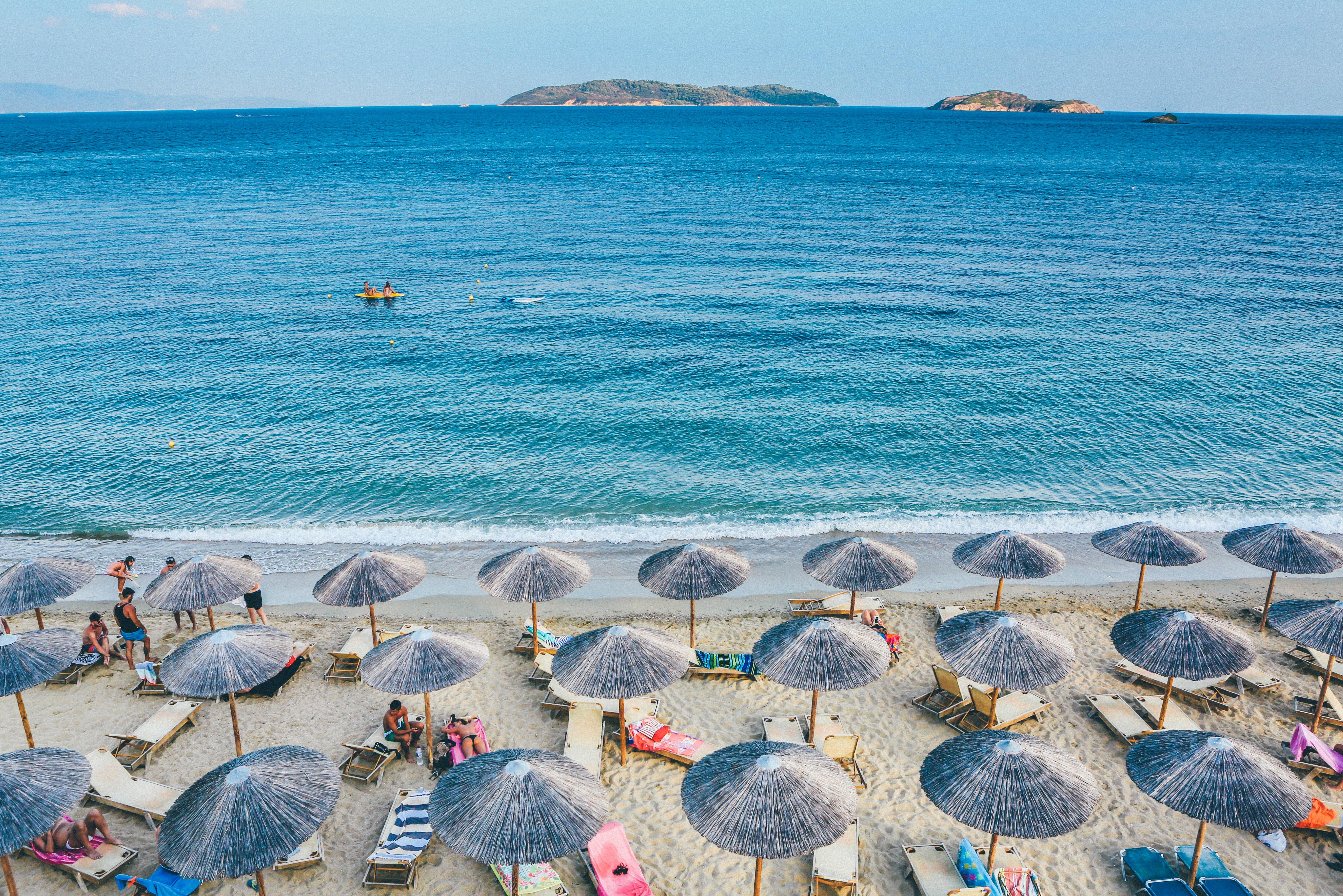 Skiathos, Greece, Walking on sunshine
