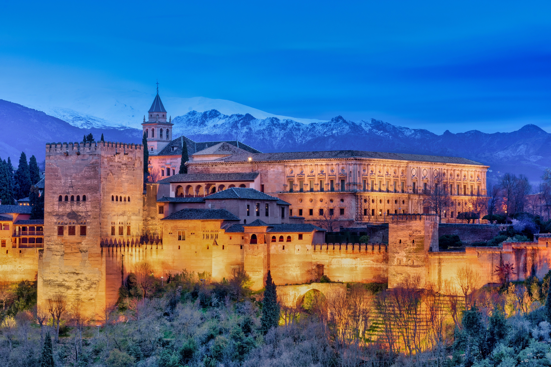 The Alhambra in Granada, UNESCO World Heritage Sites