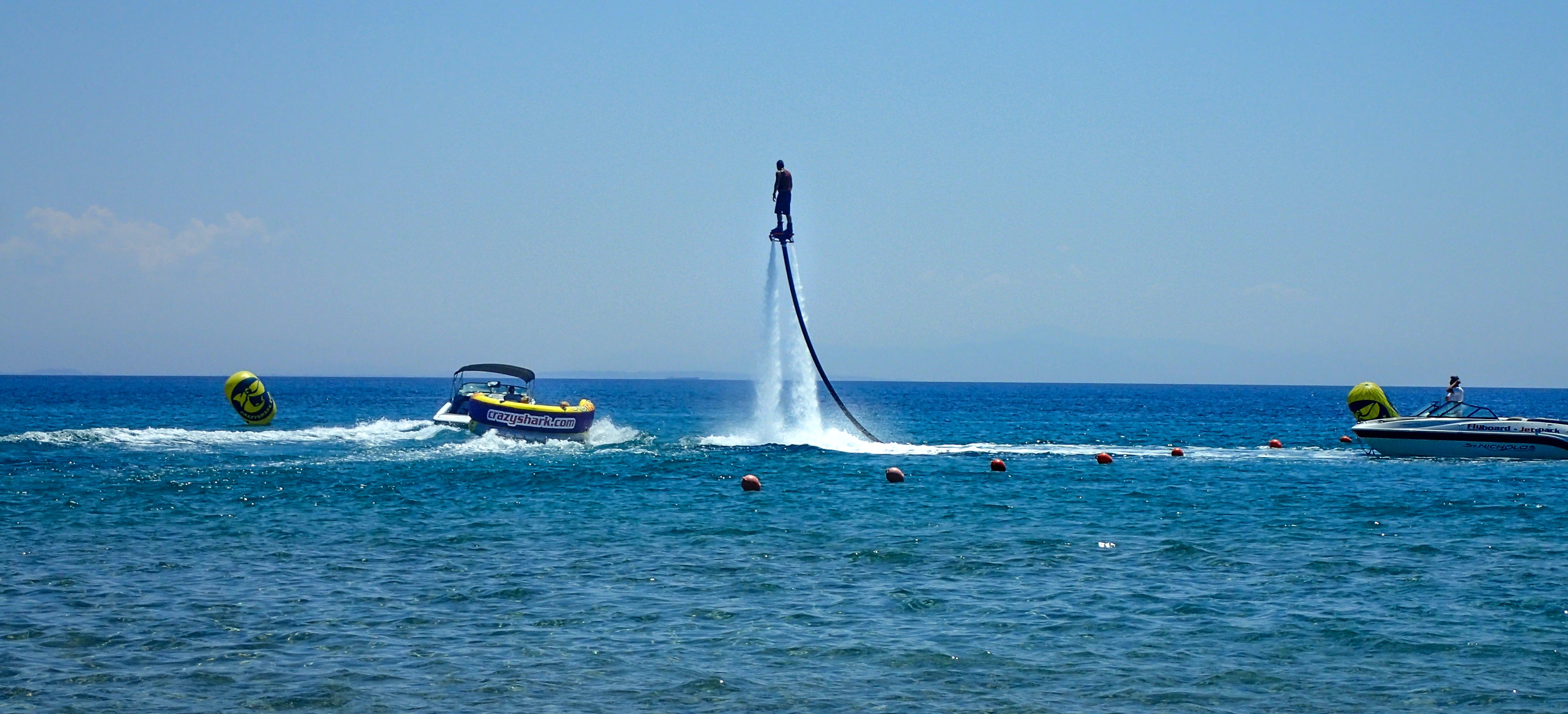 St. Nicholas Beach, Vasilikos, Greece, Adrenaline-pumping Fun