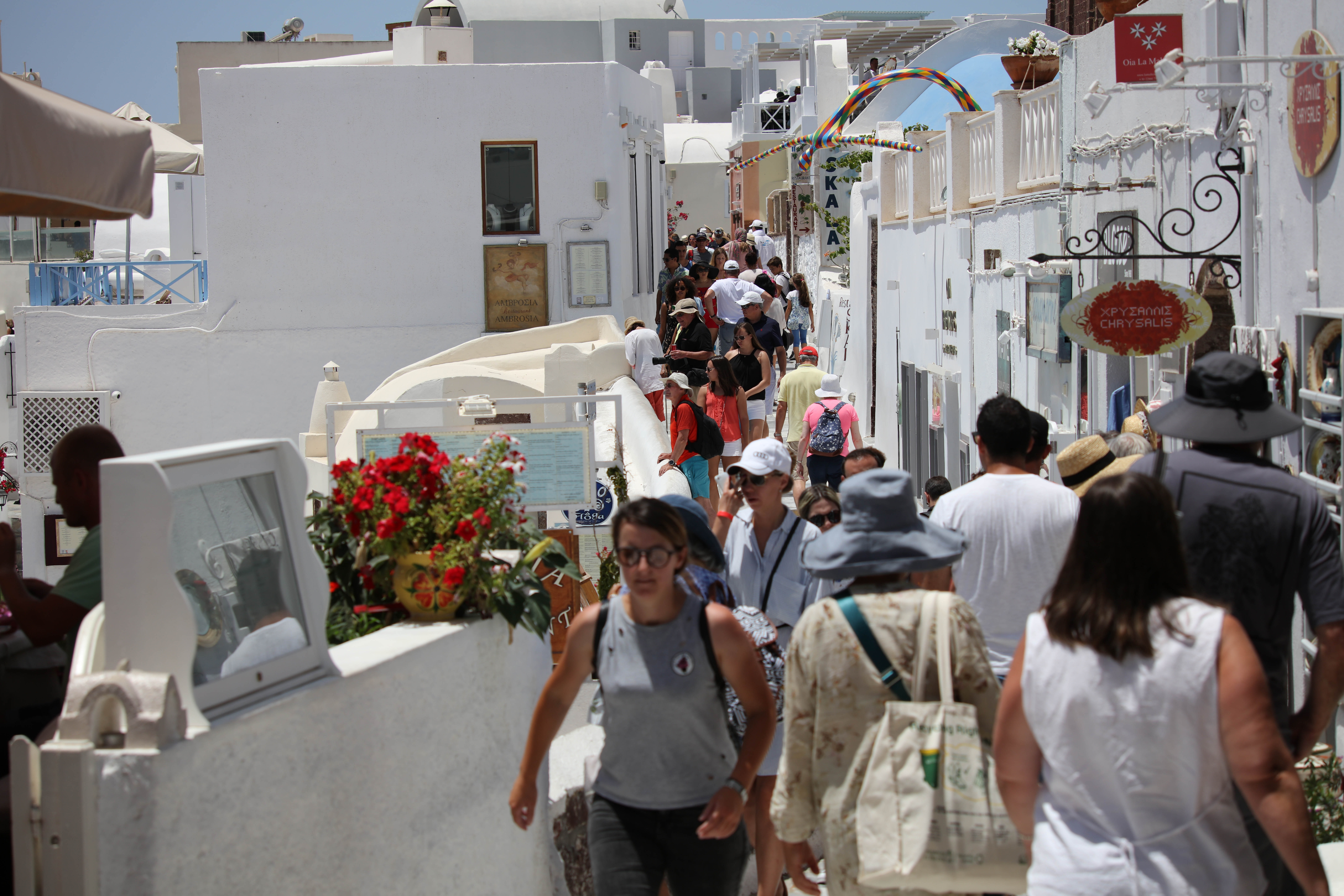 Best Places to Shop In Santorini