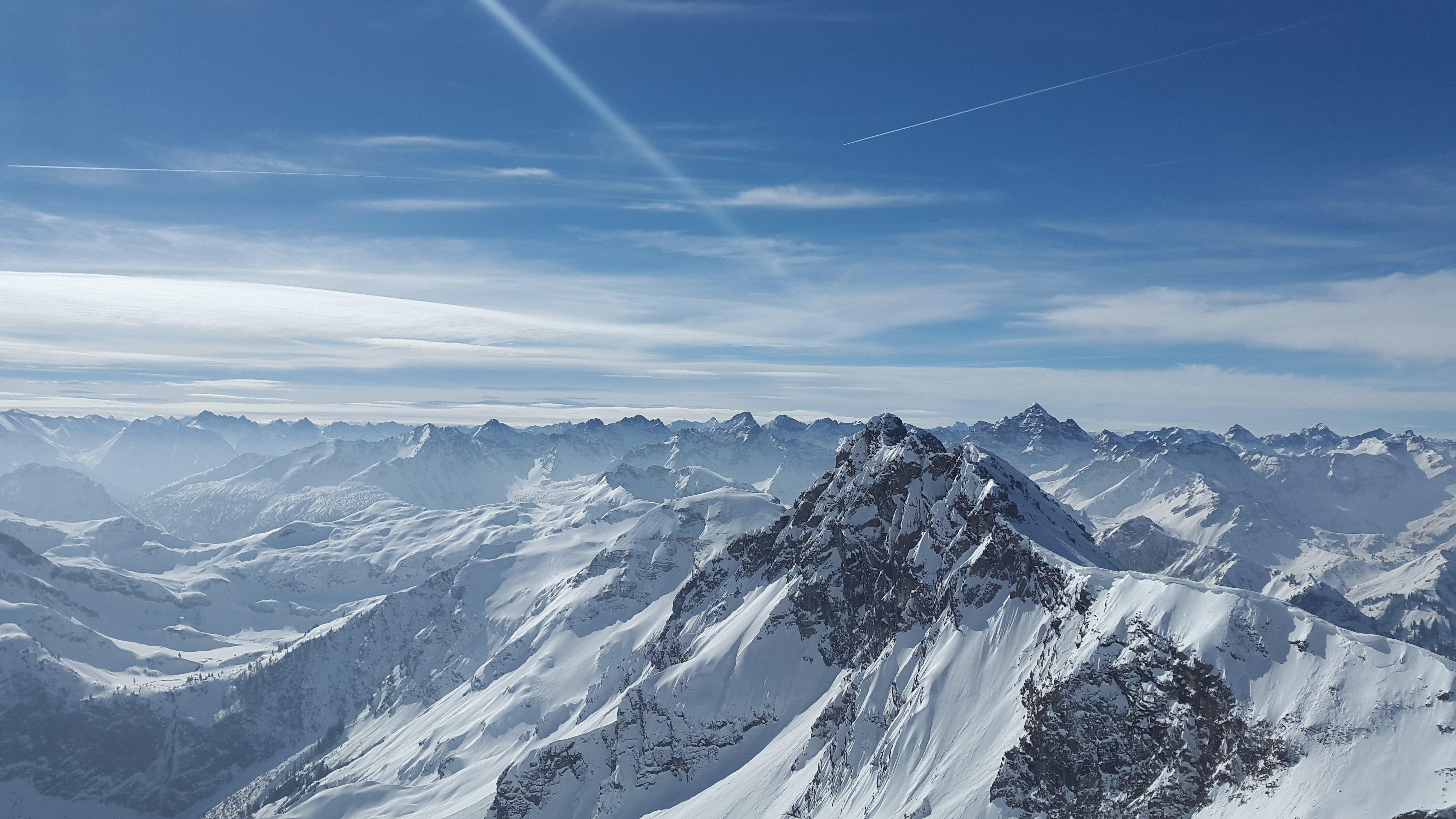 Dramatic Alpine Summits