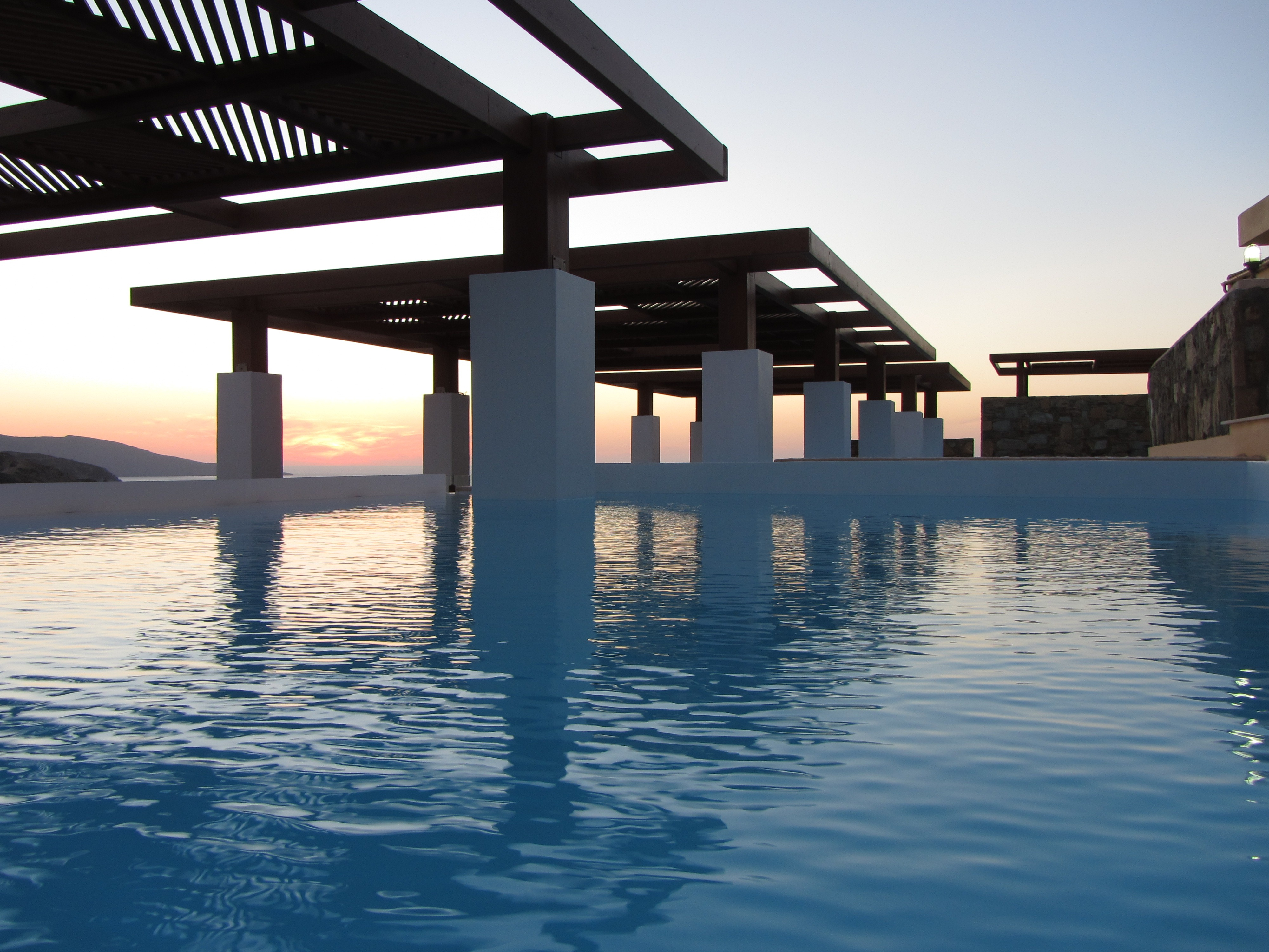 Swimming Pool, Island of Crete, Greece, Affordability