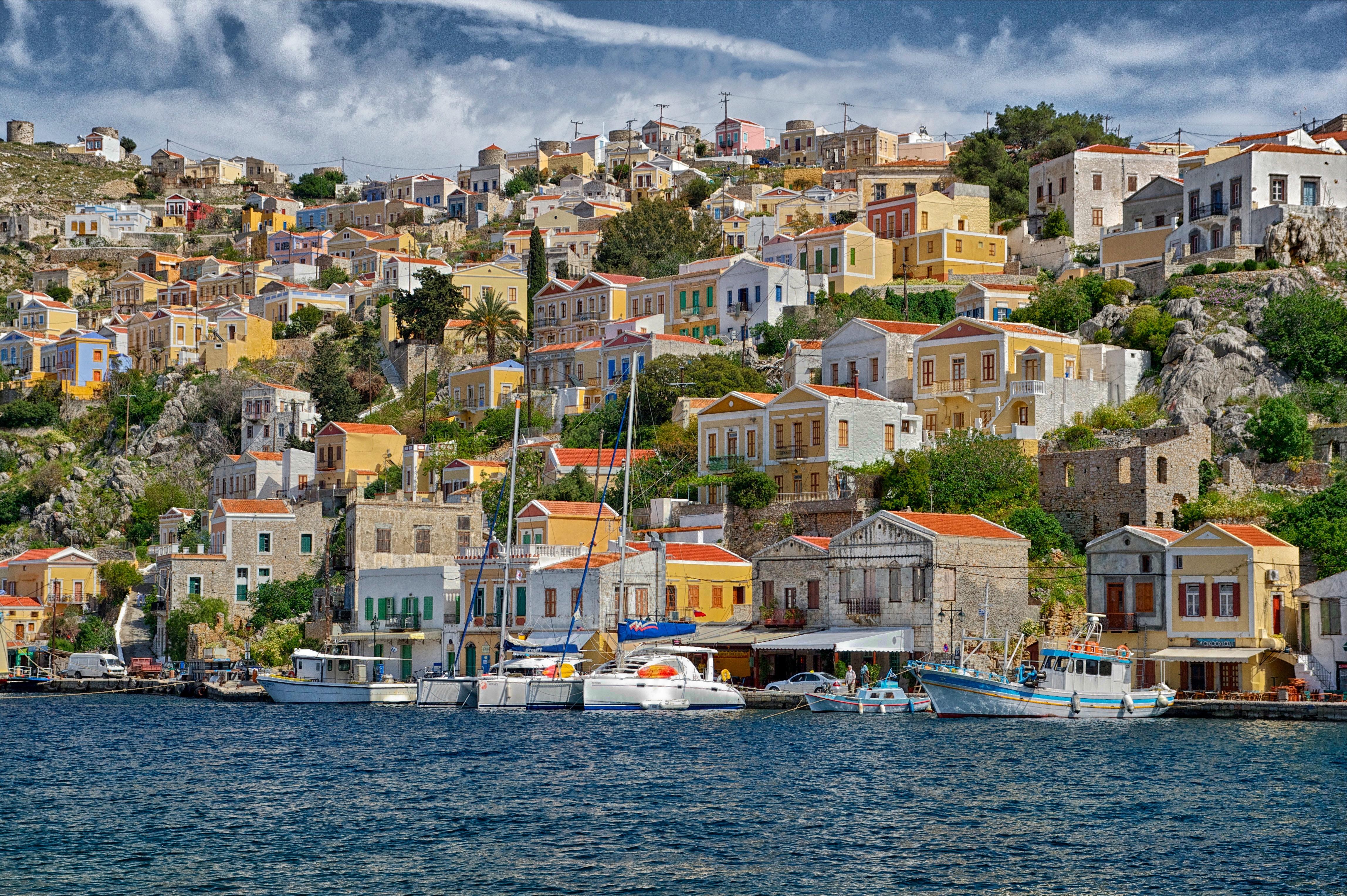 Symi, Instagrammable Spots In Greece