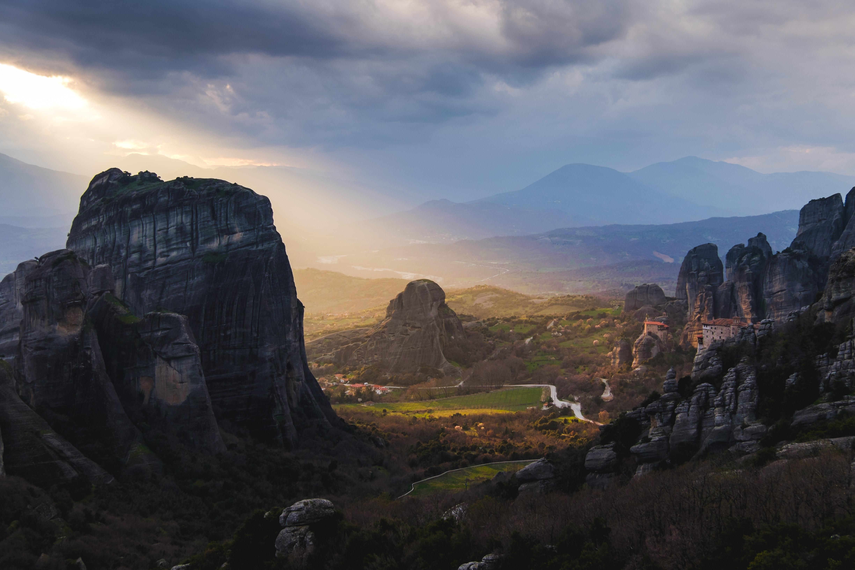Meteora, Greece, Breathtaking landscapes