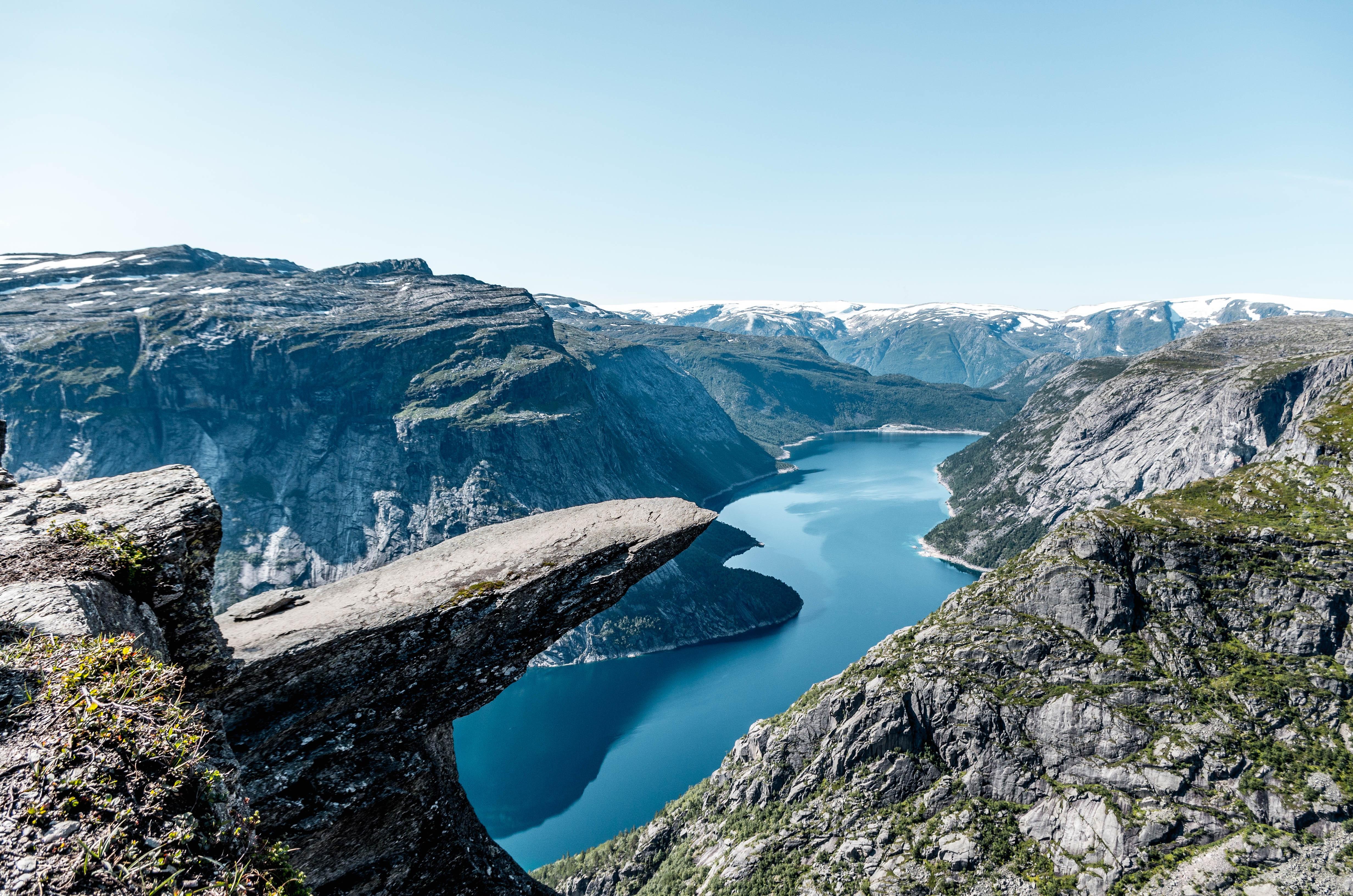 Trekking Places in Norway