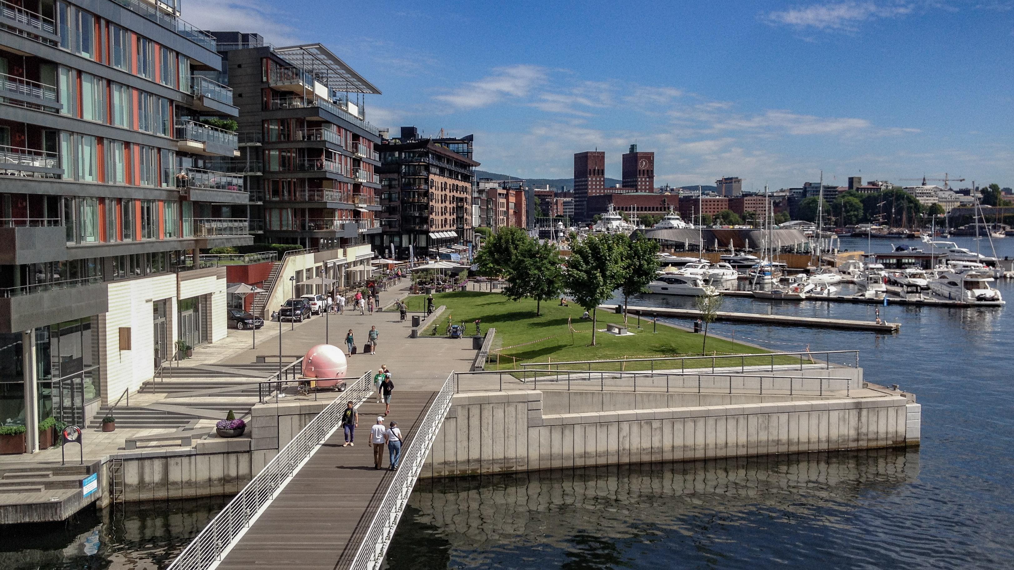 Harbour Promenade, Oslo