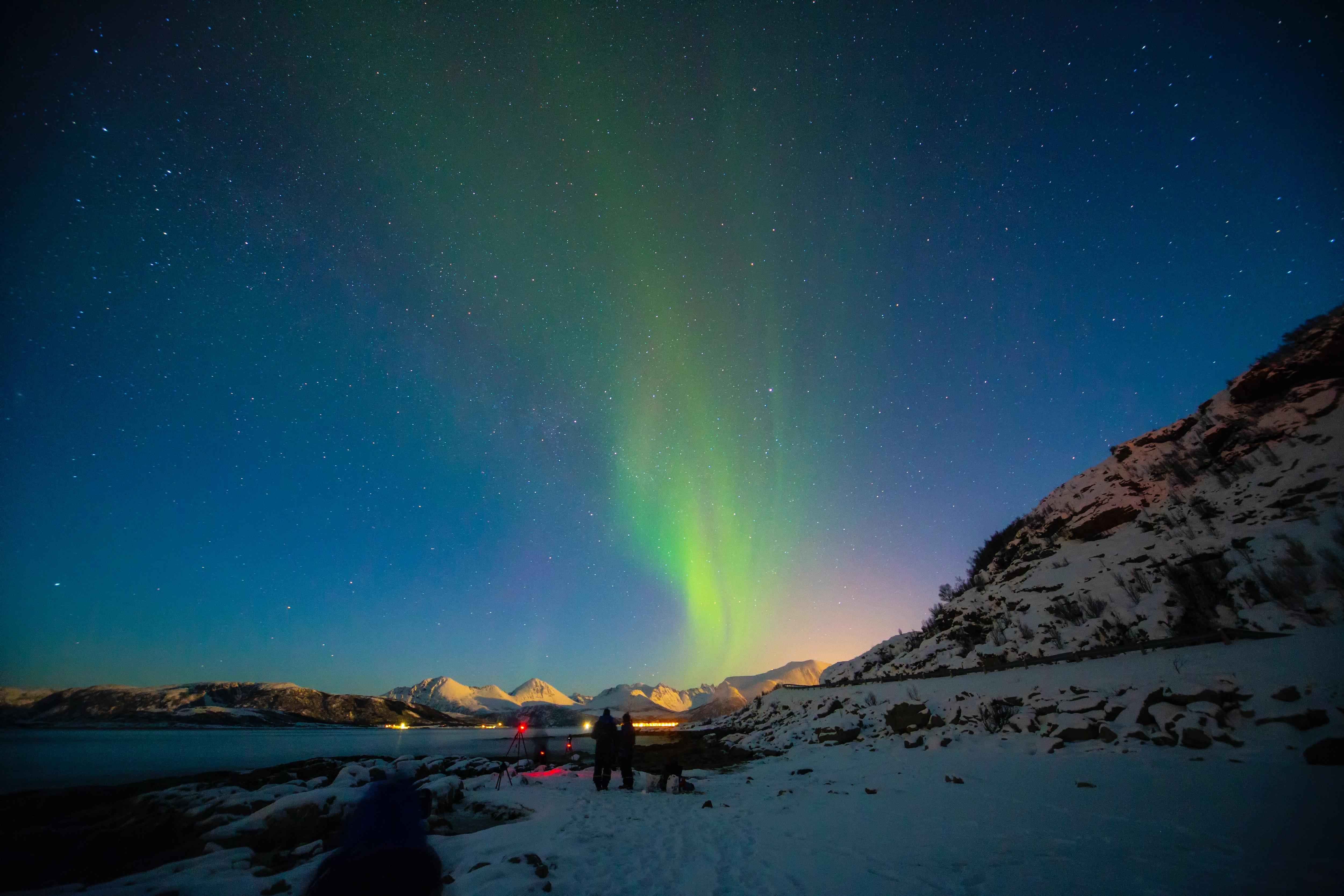 Isla de Tromsoya, Noruega