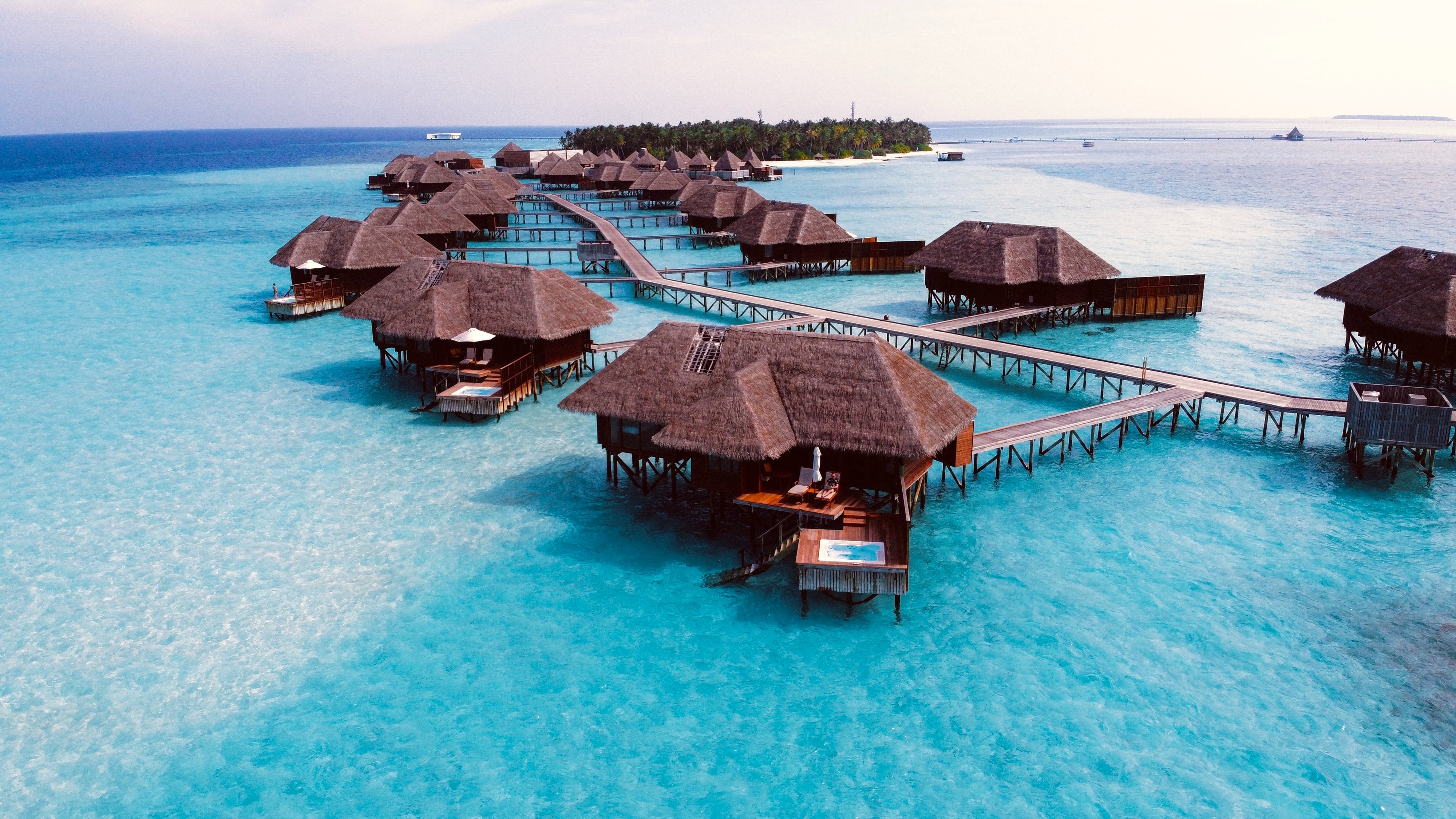 Unique Water Villas With Glass Floors in Maldives