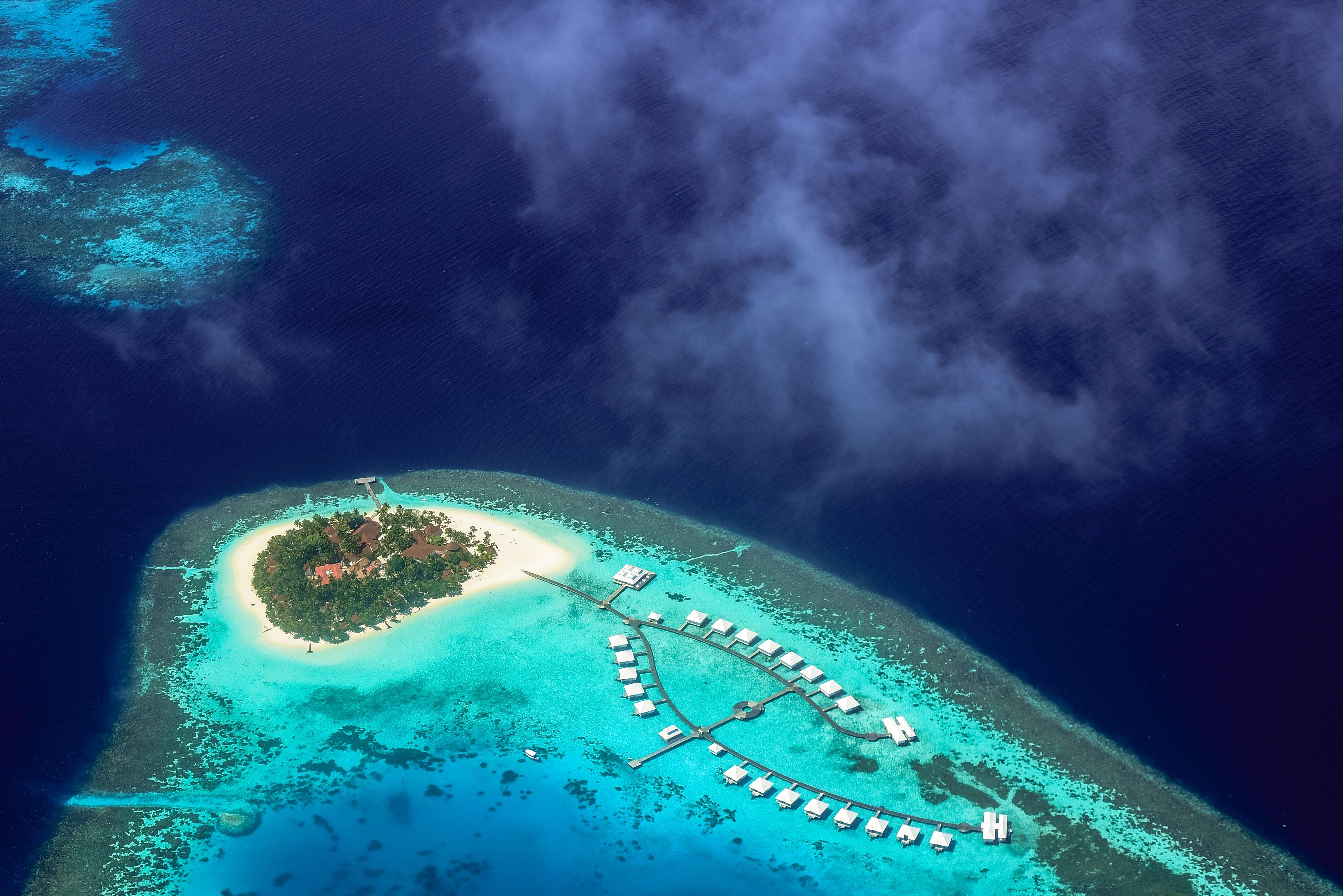 maldives water villa resorts