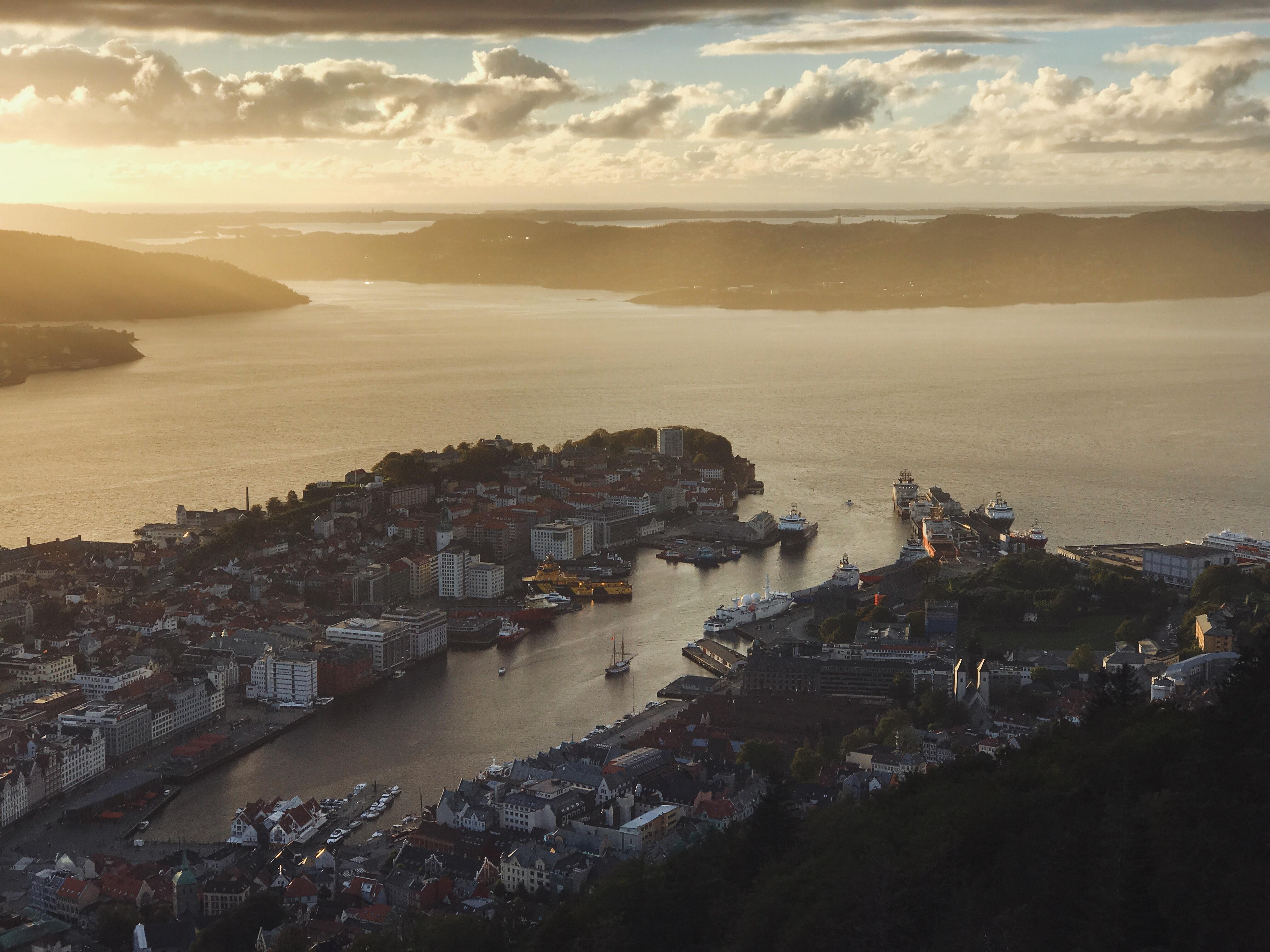 Crucero por Bergen, atracciones principales en Bergen, Noruega
