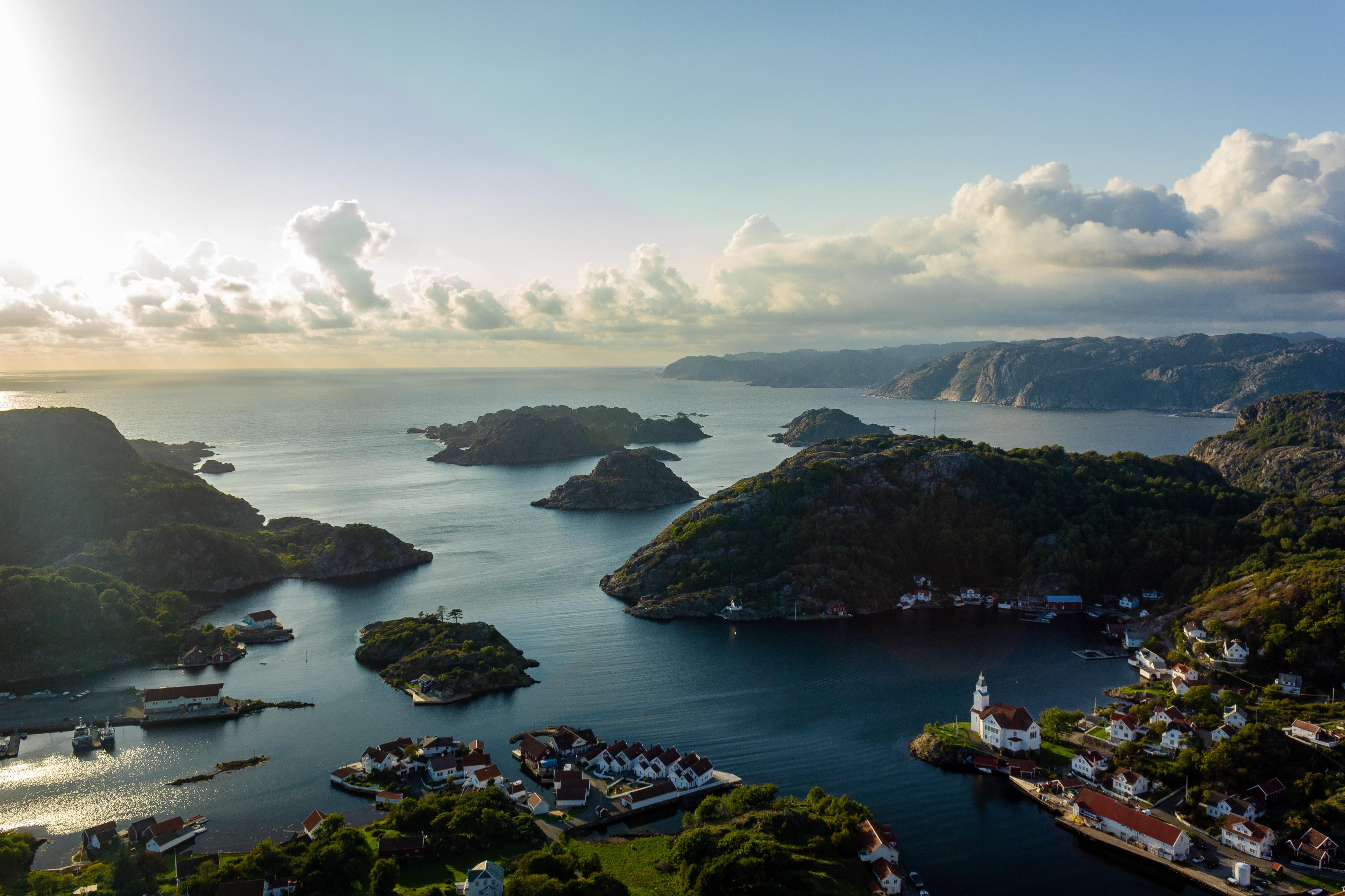 Hidra, atractiva isla en Noruega