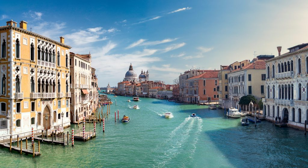 romantic places, grand canal