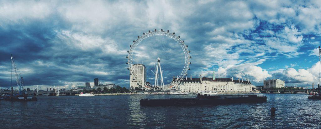 romantic places, london eye