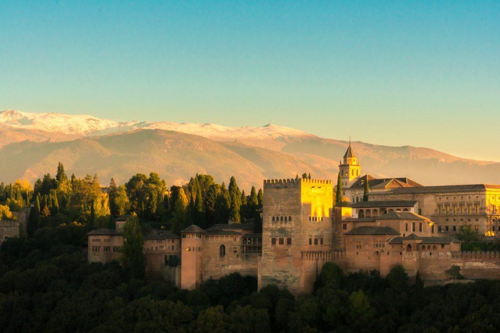 romantic places, alhambra