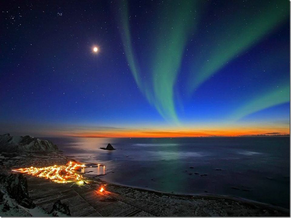Northern Lights at Renndølsetra from Norway in pictures