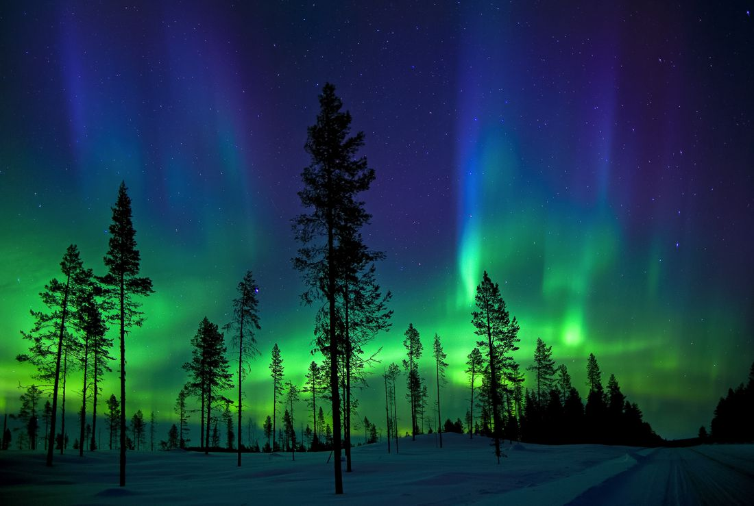 Best time to see Northern Lights Finnish Lapland(Rovaniemi ...