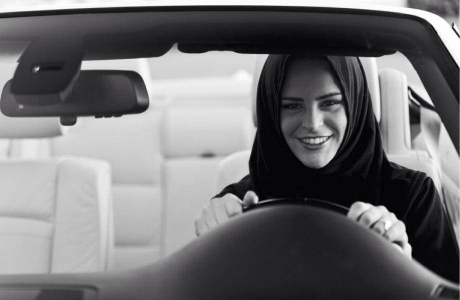Illegal for women to drive, Saudi Arabia