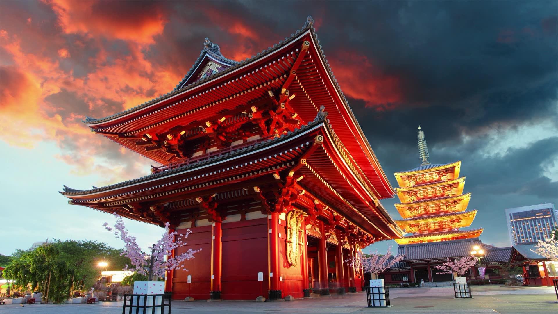 Sanctuaire Asakusa, Asakusa, Taito, Tokyo, Japan in Japan is surreal