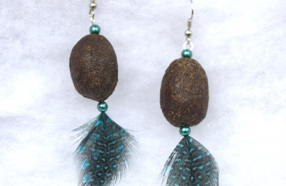 Alaska-Moose-Nugget-Earrings
