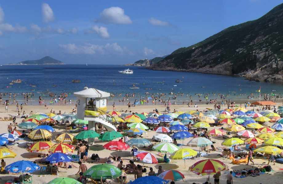 S- Shek O Beach