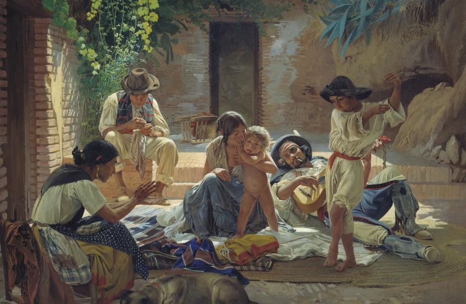 Sorokin-Spanish_Romani_people
