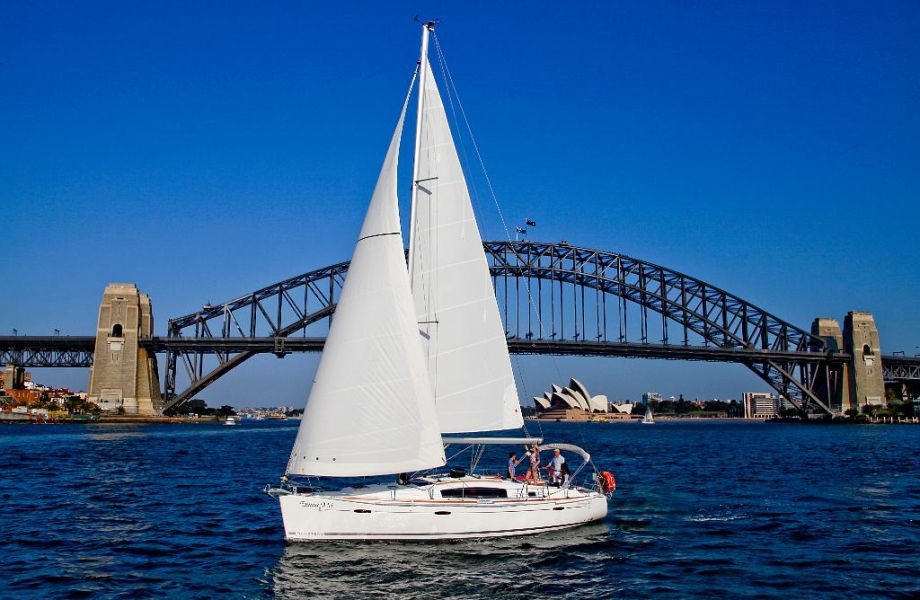 Sailing from fun in Australia