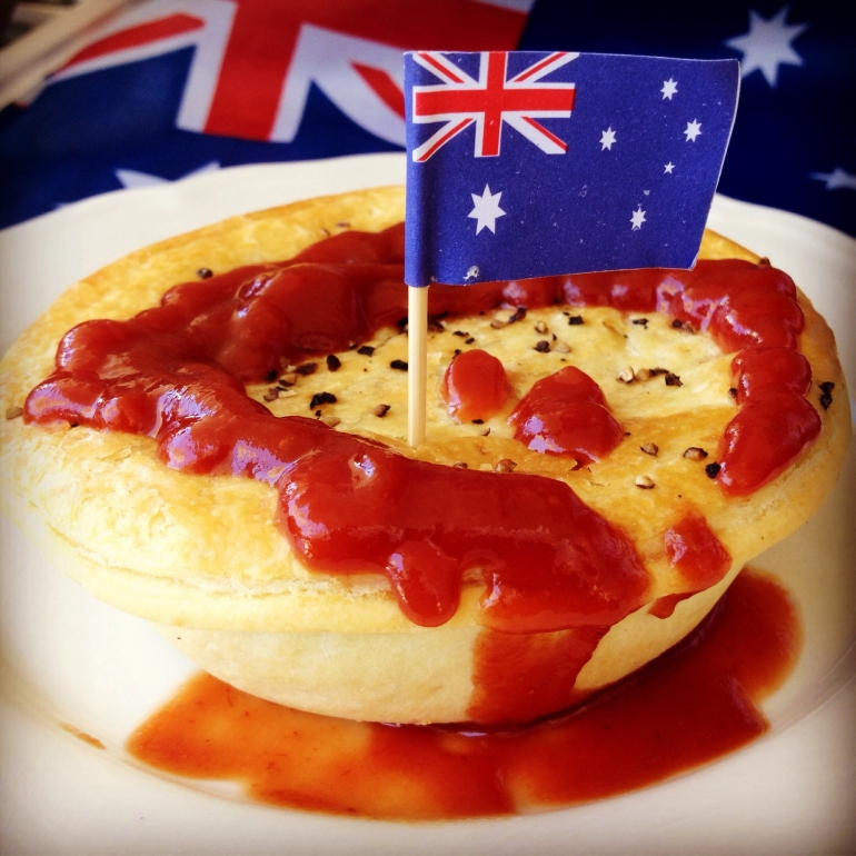 The Great Aussie Meat Pie is an all time favourite in Australia