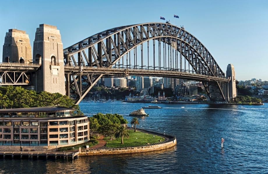 {7114B344-81B5-4E16-AFCD-D320C2CEC126}Sydney Harbour Bridge - Stock image