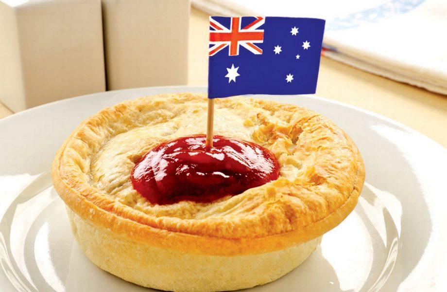 The Aussie meatpie