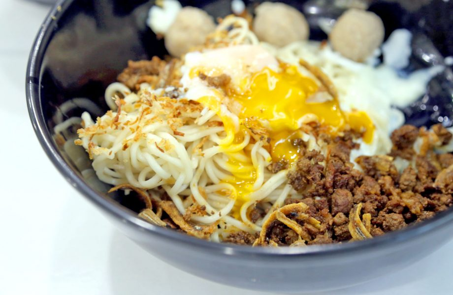 Ban mian from food in Singapore
