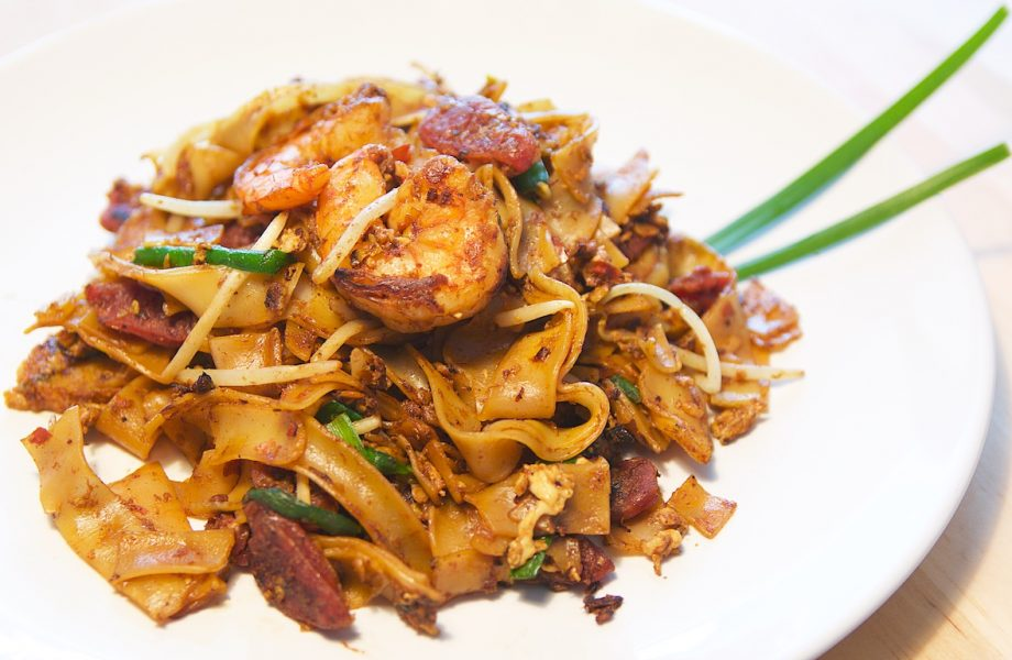 Char kway teow from food in Singapore