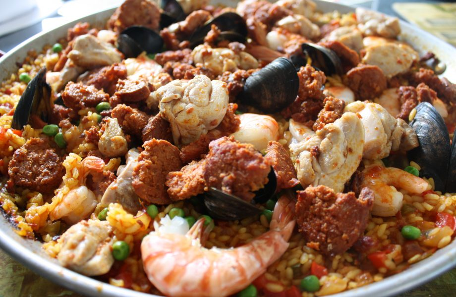 Paella in the paella cook-off contest