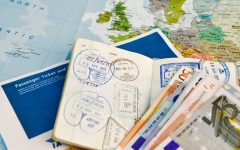 Passport and currency