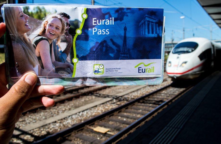 A Eurail pass