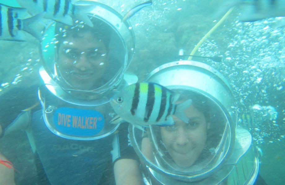 Bali Underwater seawalk