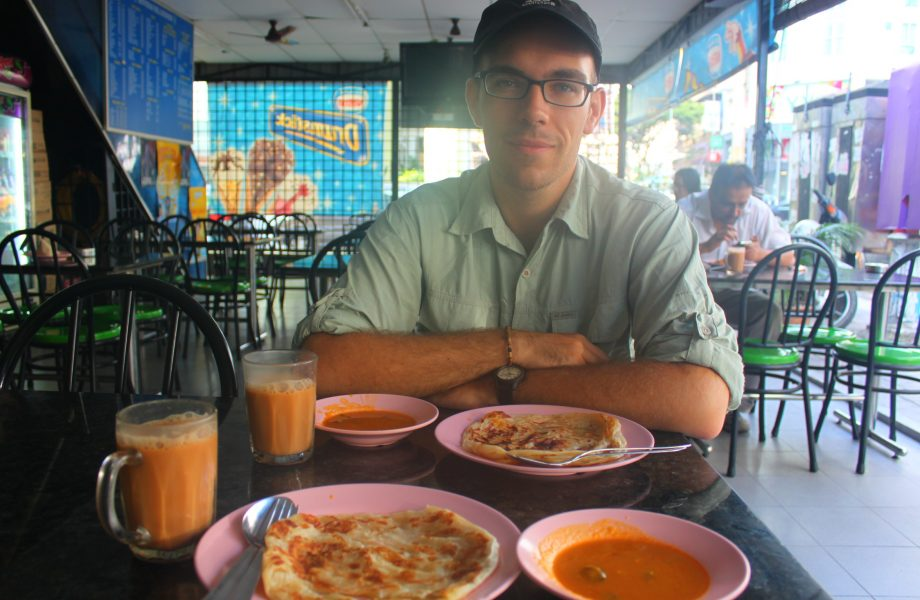 Lunch at Roti Canai