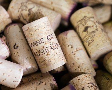 BA5RF8 Corks used for wine bottling at Margaret River, Western Australia, AUSTRALIA. Image shot 02/2009. Exact date unknown.