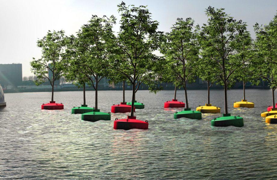Bobbing Forest in Rotterdam