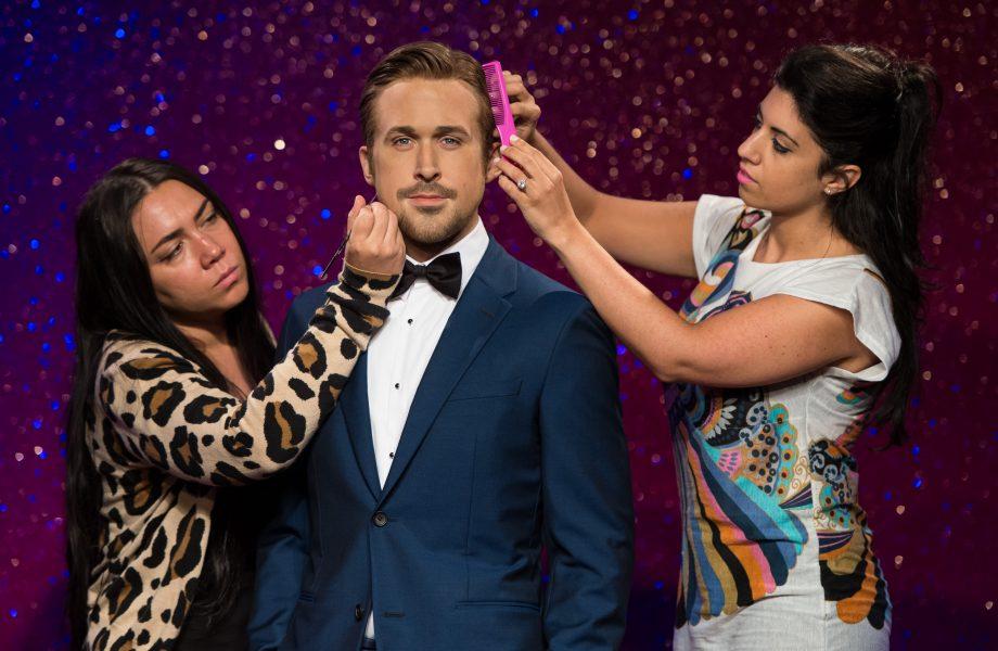Ryan Gosling wax figure at Madame Tussauds