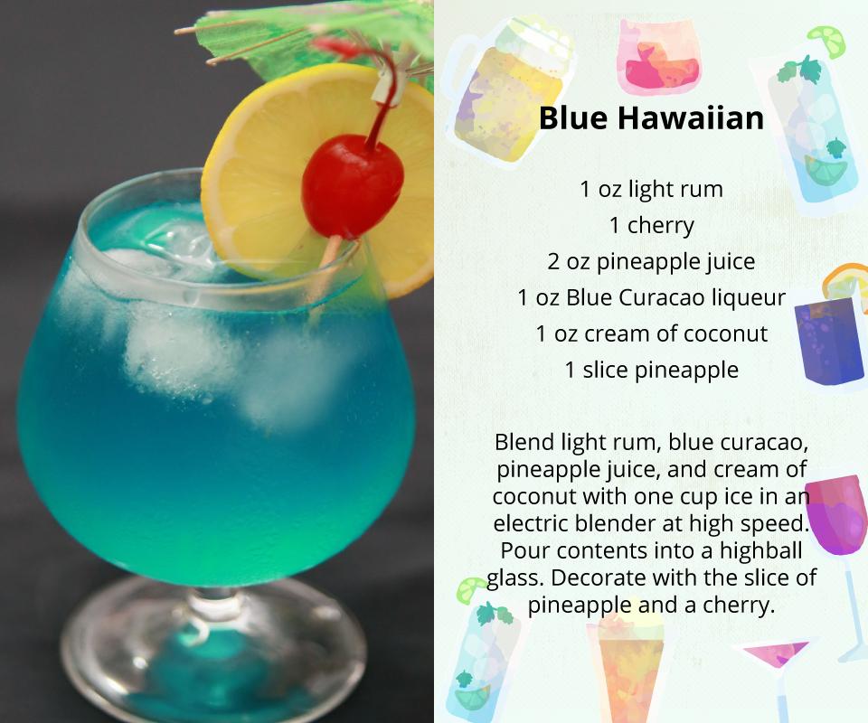 Blue Hawaiian Punch Alcoholic Drink