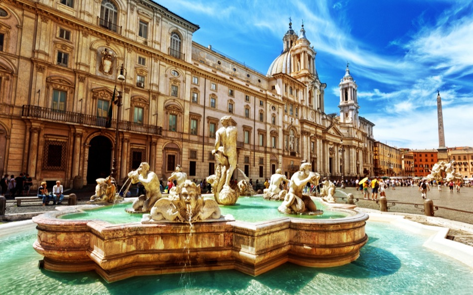 Piazza Navona in Guide to Rome