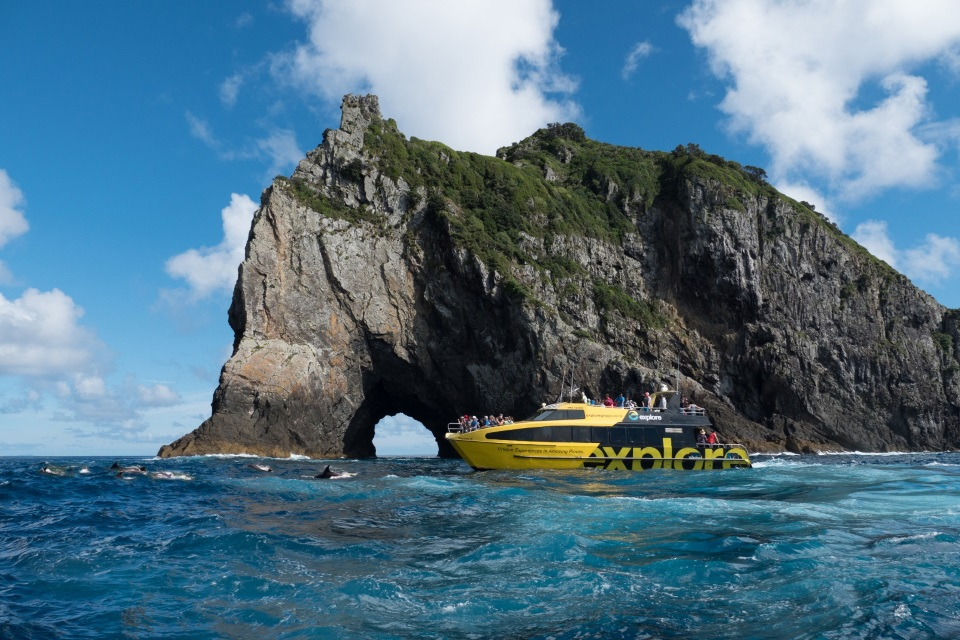 Bay of Islands cruise on your New Zealand honeymoon