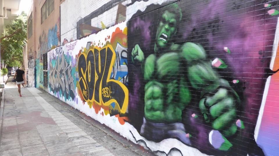 Mong Kok Wall of Fame