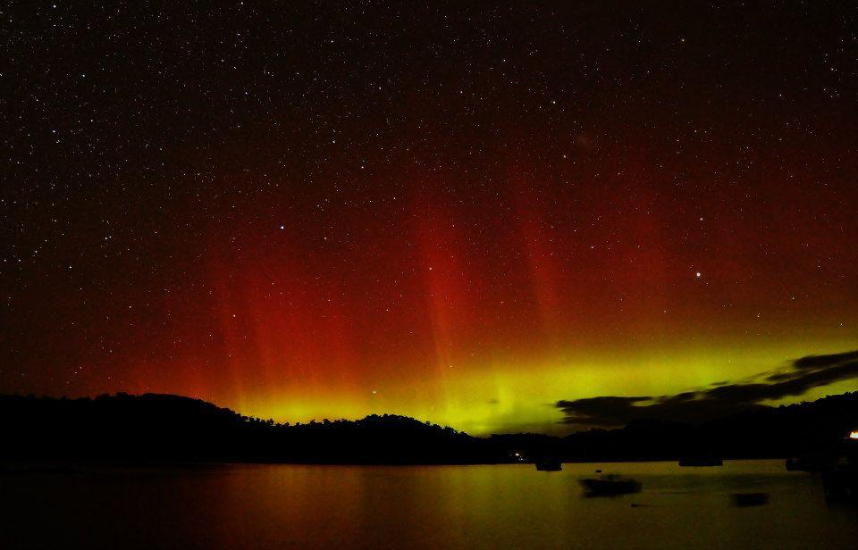 Southern Lights at Stewart Island