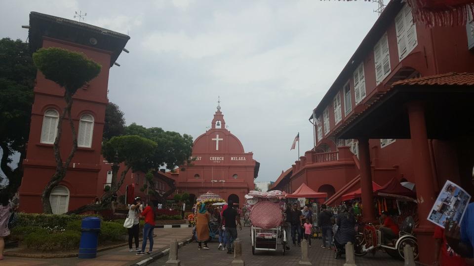 Buildings in Melaka